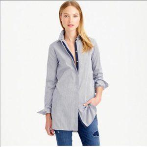 J. CREW Blue Striped Button Down Endless Shirt 2